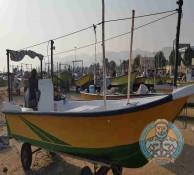 قایق صیادی با موتور 75