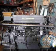موتور ميتسوبيشي در بندر گناوه