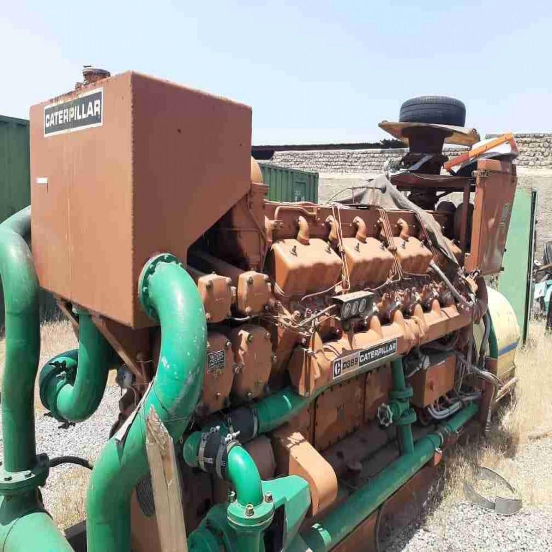 تأمین قطعات یدکی و تعمیرات اساسی موتورهای دیزلی کاترپیلار