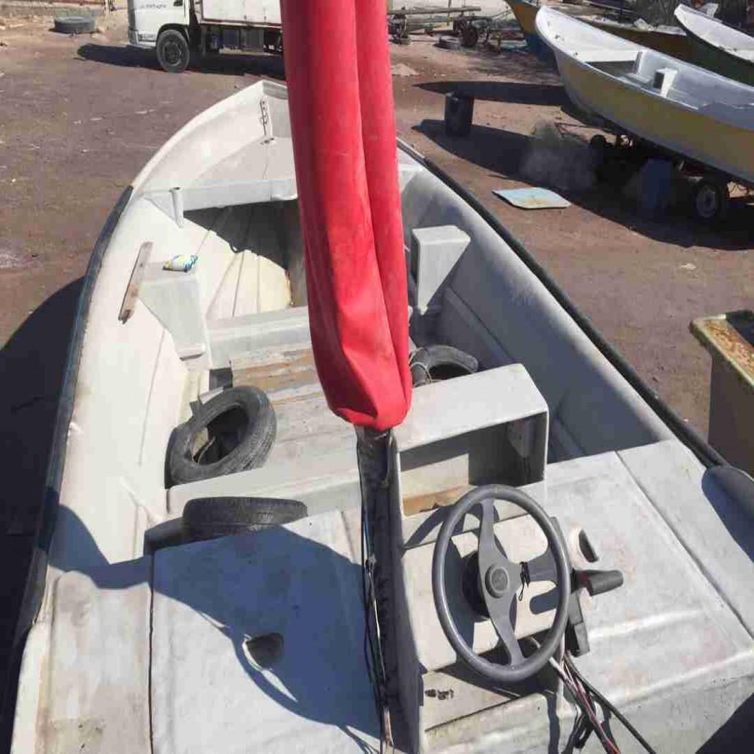فروش قایق با تمام وسایل بدون چی پی اس