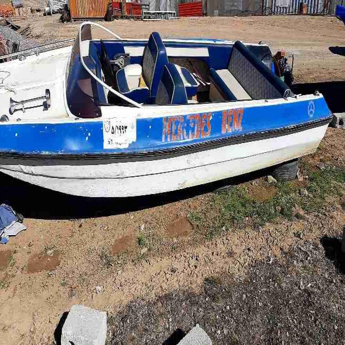 فروش قایق مبله