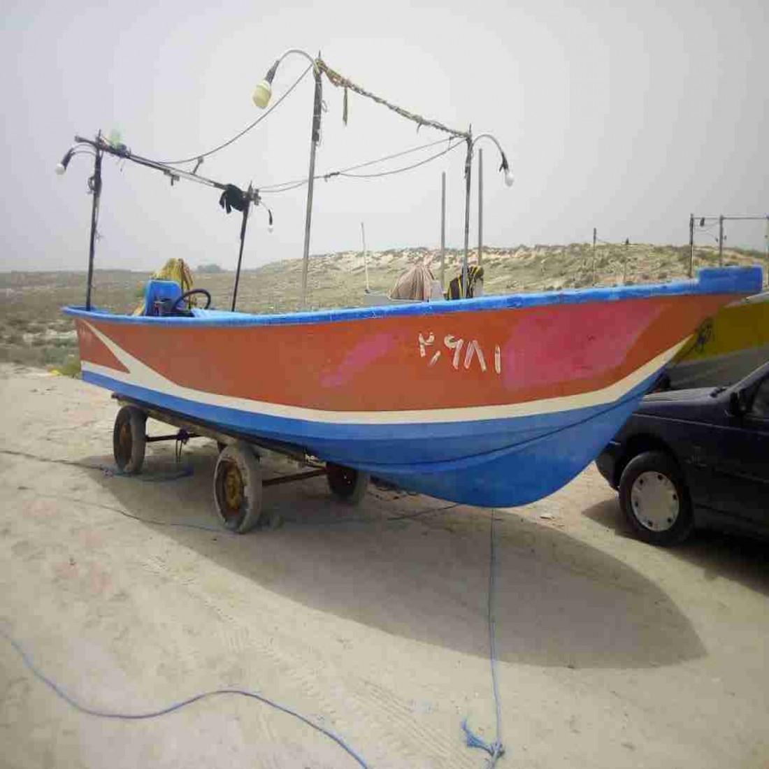 فروش قایق ۲۳ فوت دیری یخچالدار