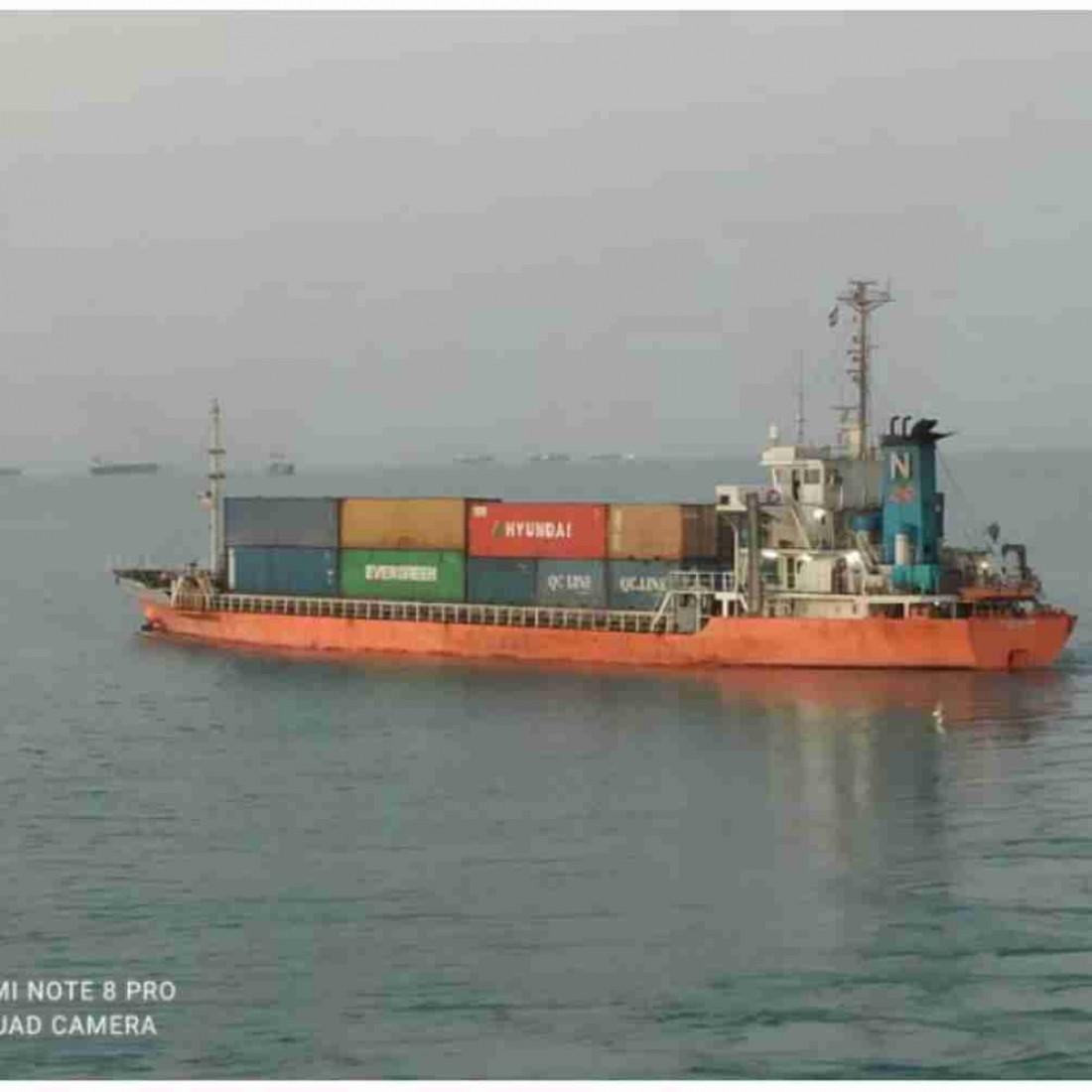 فروش کشتی 2500 تنی
