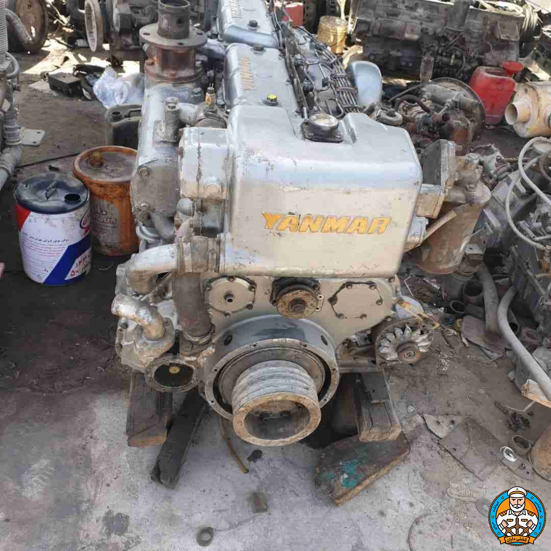 فروش موتور یانمار 165 اسببخار