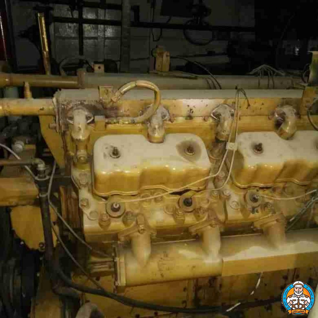 فروش 2 عدد موتور کاترپیلار D398