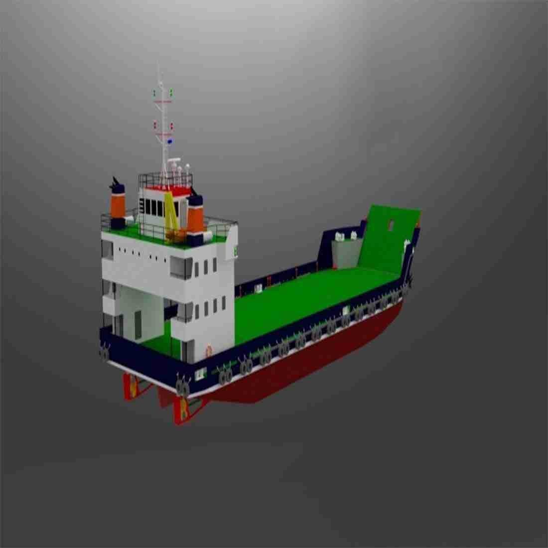 طراحی و ساخت لندینگ کرافت 50 متری( GT:497 )