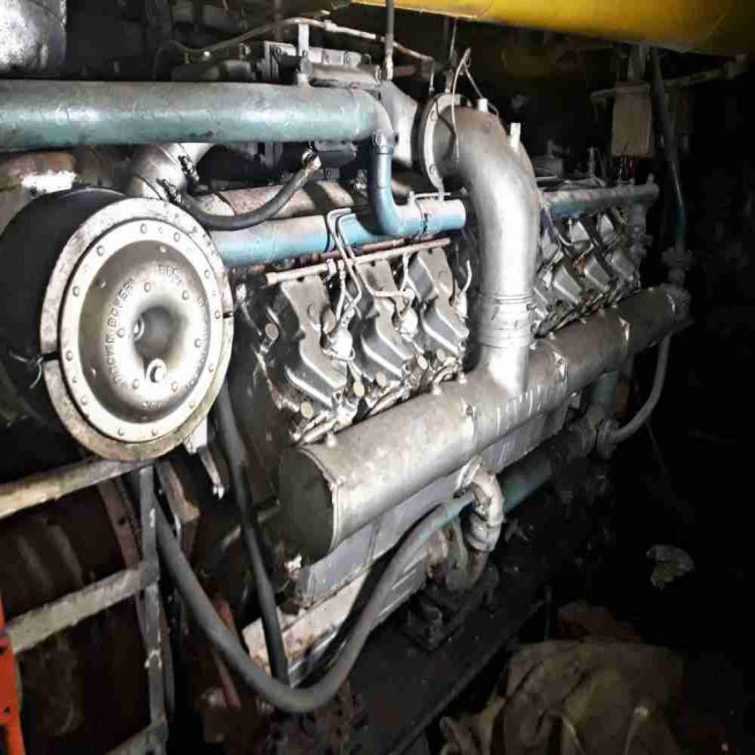 فروش موتور 16 سیلندر MWM