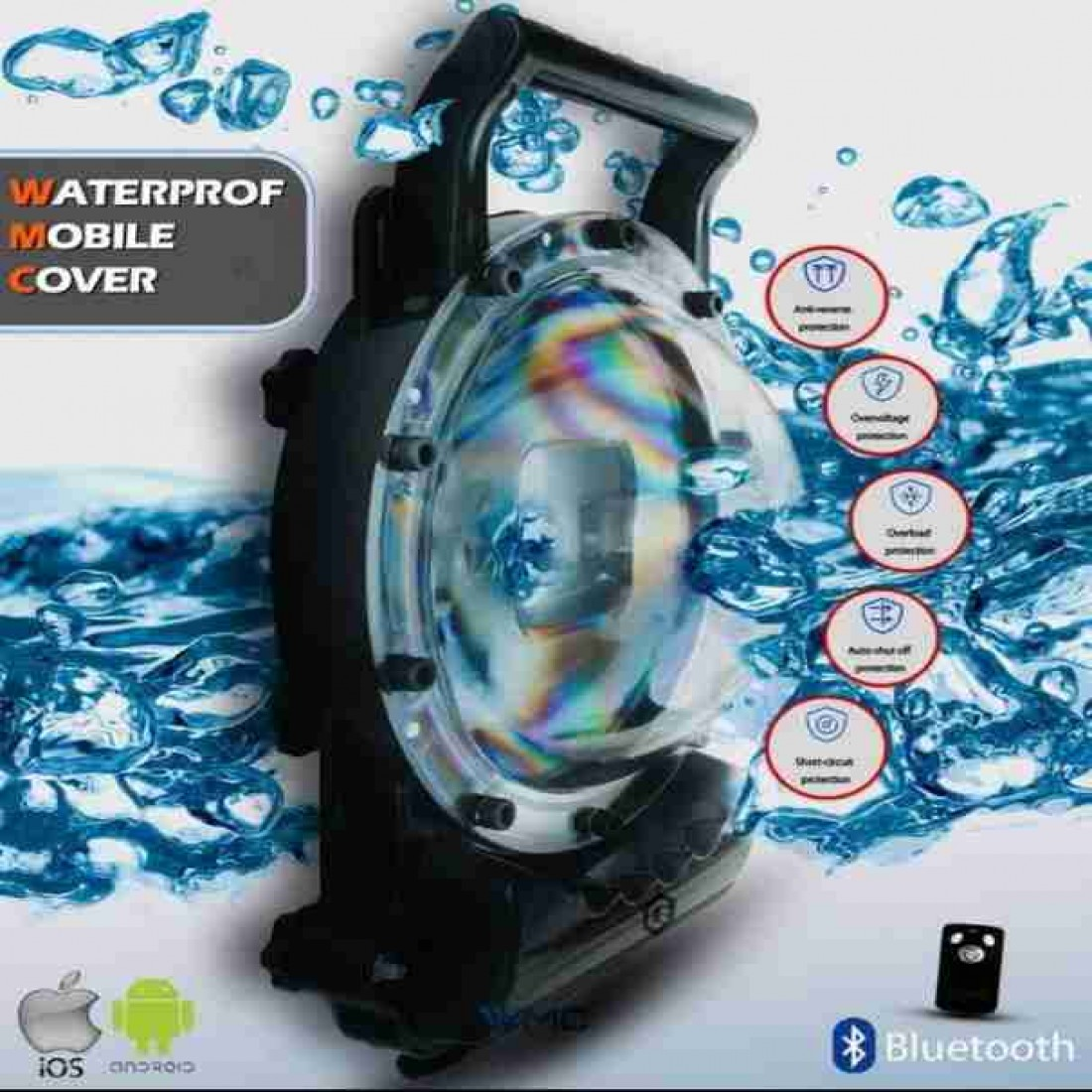 کاورلنز ضد آب برای موبایل و دوربین